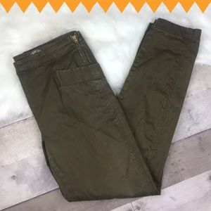Marc by Marc Jacobs green cigarette pants size 31